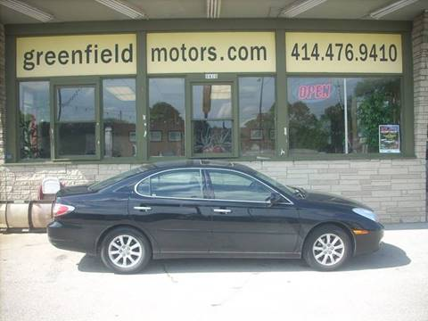2003 Lexus ES 300 for sale at GREENFIELD MOTORS in Milwaukee WI