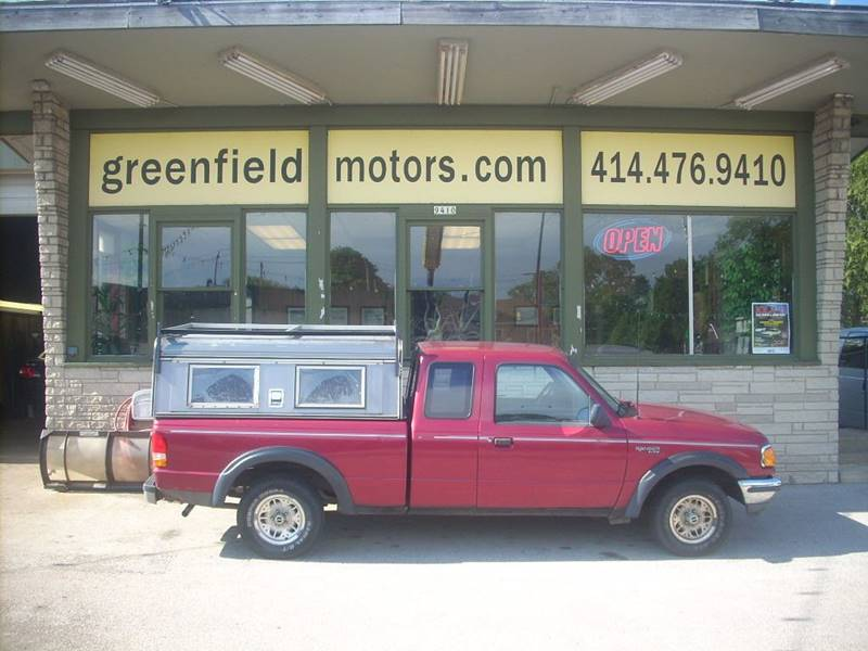 1994 Ford Ranger for sale at GREENFIELD MOTORS in Milwaukee WI