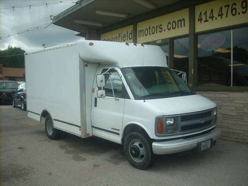 1998 Chevrolet Express Cargo for sale at GREENFIELD MOTORS in Milwaukee WI