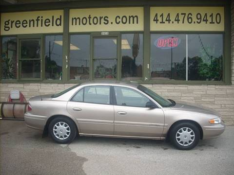 1998 Buick Century for sale at GREENFIELD MOTORS in Milwaukee WI