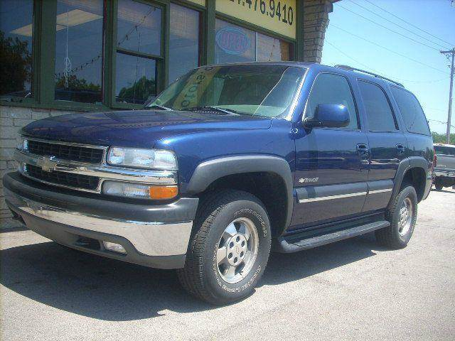 2003 Chevrolet Tahoe for sale at GREENFIELD MOTORS in Milwaukee WI