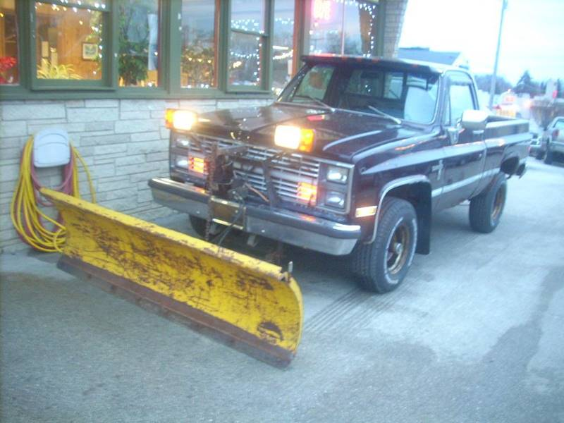1983 Chevrolet C/K 10 Series for sale at GREENFIELD MOTORS in Milwaukee WI