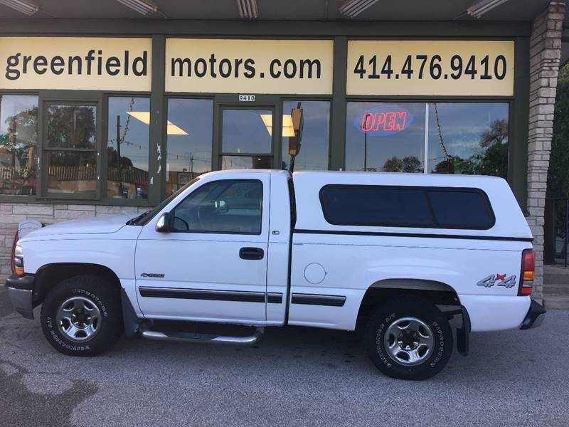 1999 Chevrolet Silverado 1500 For Sale At GREENFIELD MOTORS In Milwaukee WI
