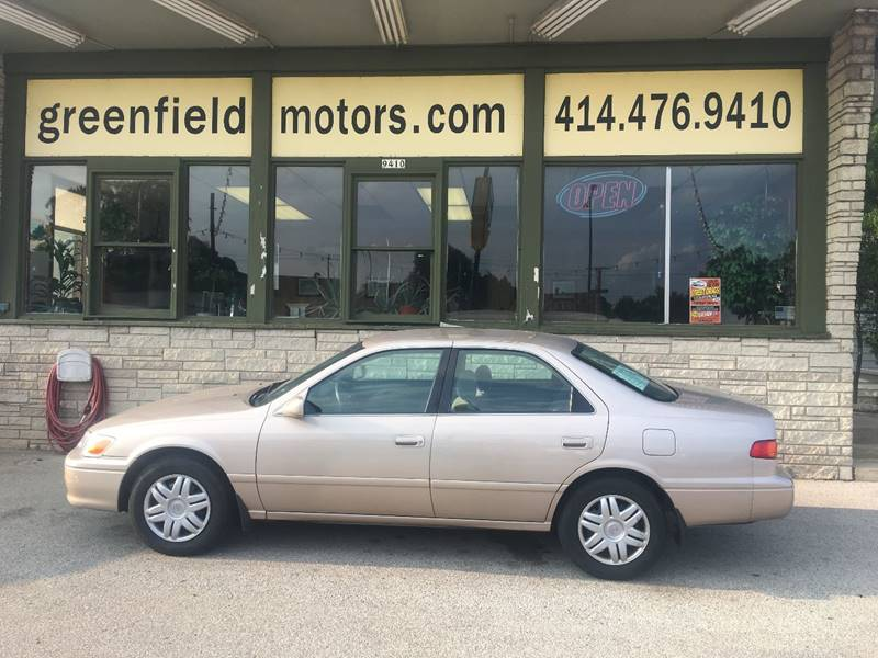 2001 Toyota Camry For Sale At GREENFIELD MOTORS In Milwaukee WI