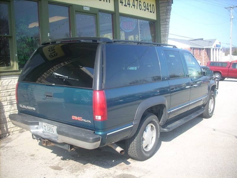 1997 GMC Suburban for sale at GREENFIELD MOTORS in Milwaukee WI