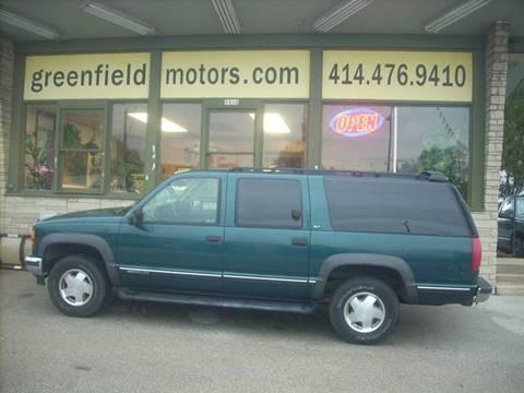 1997 GMC Suburban for sale in Milwaukee, WI
