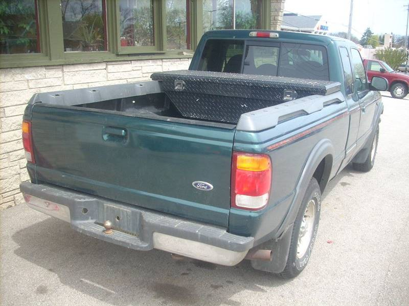 1998 Ford Ranger for sale at GREENFIELD MOTORS in Milwaukee WI