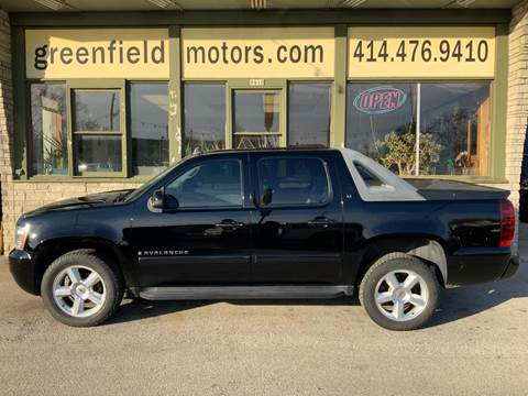 2007 Chevrolet Avalanche LTZ 1500 for sale at GREENFIELD MOTORS in Milwaukee WI
