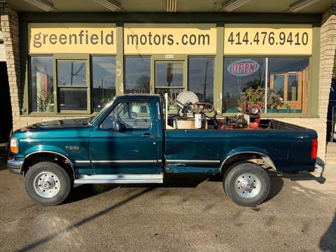 1997 Ford F-250 XLT for sale at GREENFIELD MOTORS in Milwaukee WI