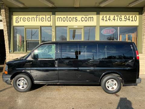 2007 Chevrolet Express Passenger LS 1500 for sale at GREENFIELD MOTORS in Milwaukee WI