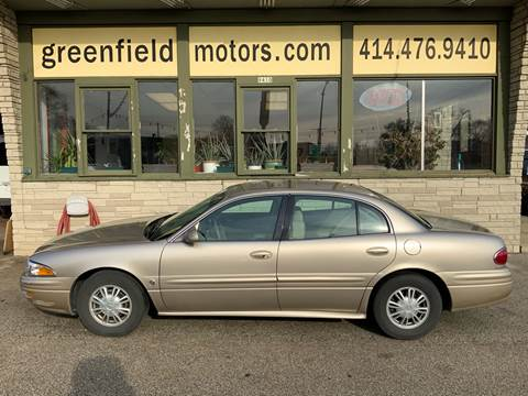 2005 Buick LeSabre Custom for sale at GREENFIELD MOTORS in Milwaukee WI