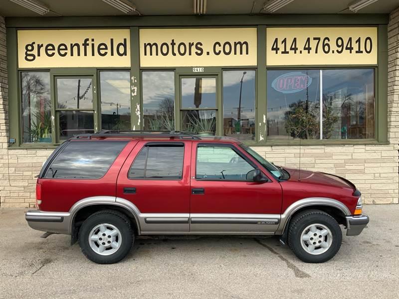 1998 Chevrolet Blazer LS (image 1)