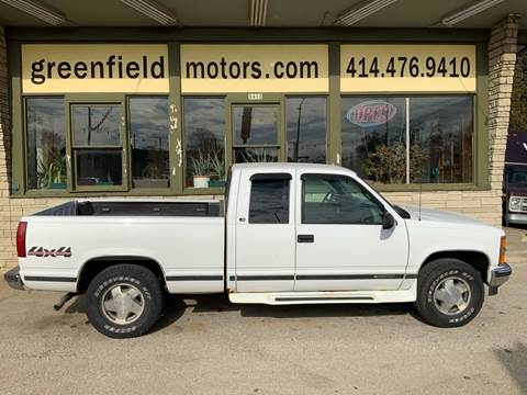 1999 Chevrolet C/K 1500 Series K1500 LS for sale at GREENFIELD MOTORS in Milwaukee WI
