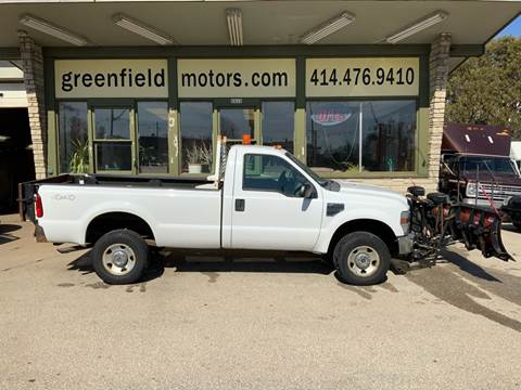 2008 Ford F-350 Super Duty XL for sale at GREENFIELD MOTORS in Milwaukee WI