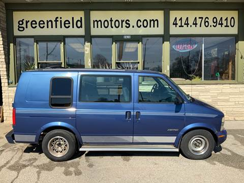 1997 Chevrolet Astro for sale at GREENFIELD MOTORS in Milwaukee WI