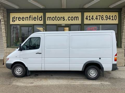 2006 Dodge Sprinter Cargo 2500 for sale at GREENFIELD MOTORS in Milwaukee WI