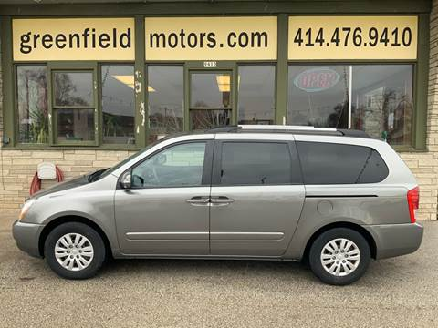 2011 Kia Sedona LX for sale at GREENFIELD MOTORS in Milwaukee WI