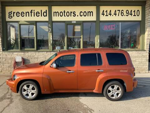 2007 Chevrolet HHR LT for sale at GREENFIELD MOTORS in Milwaukee WI