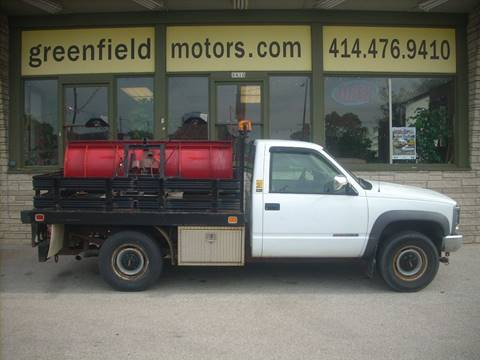 1994 GMC Sierra 3500 for sale at GREENFIELD MOTORS in Milwaukee WI