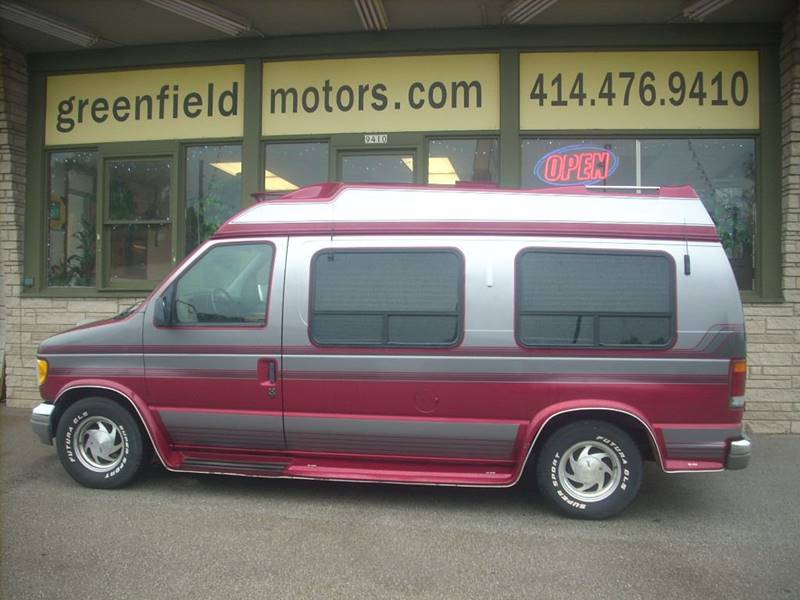 1993 Ford E-150 for sale at GREENFIELD MOTORS in Milwaukee WI