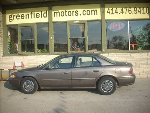 2004 Buick Century for sale at GREENFIELD MOTORS in Milwaukee WI