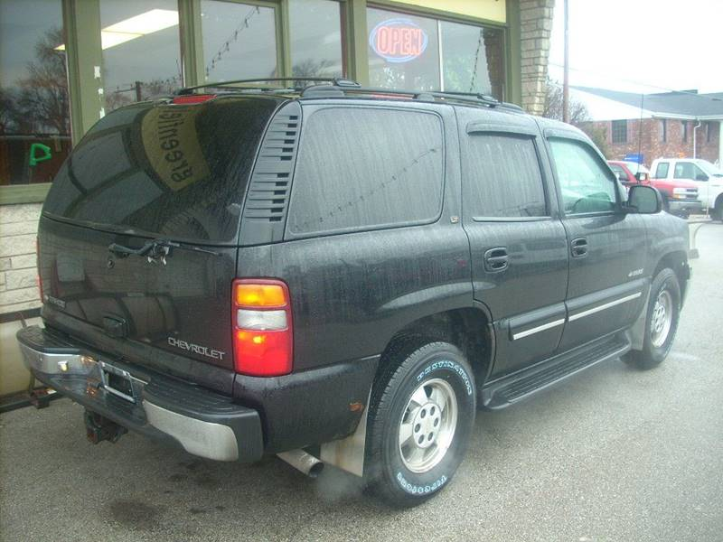 2000 Chevrolet Tahoe for sale at GREENFIELD MOTORS in Milwaukee WI