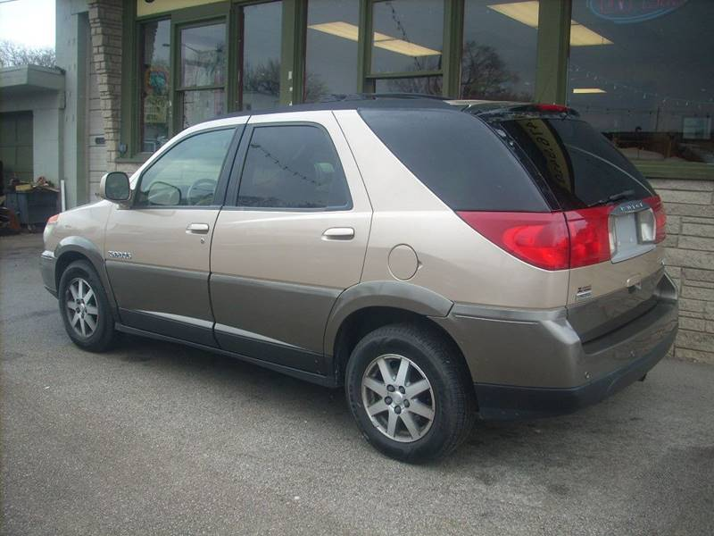 2002 Buick Rendezvous for sale at GREENFIELD MOTORS in Milwaukee WI