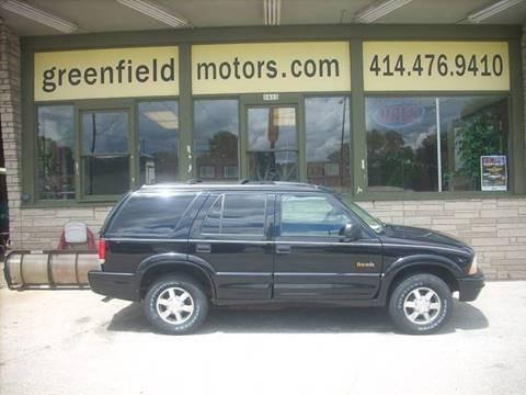1999 Oldsmobile Bravada for sale in Milwaukee, WI