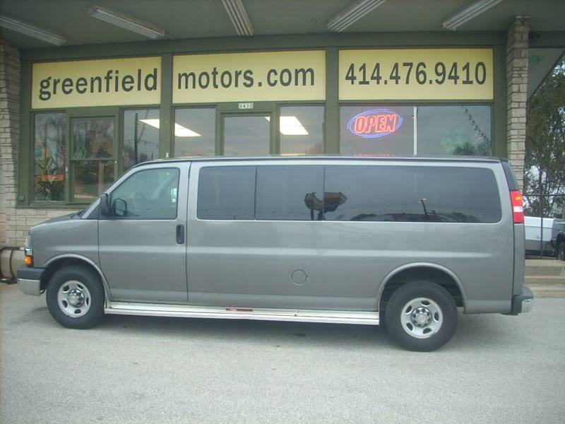 2012 Chevrolet Express Passenger for sale at GREENFIELD MOTORS in Milwaukee WI