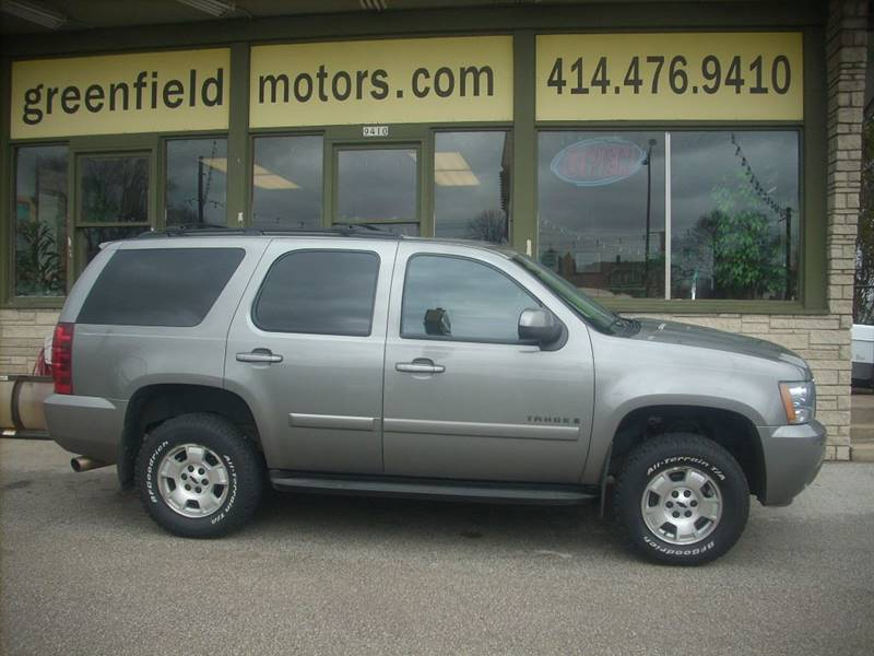2008 Chevrolet Tahoe for sale at GREENFIELD MOTORS in Milwaukee WI