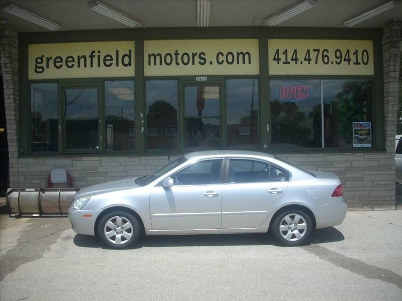 2008 Kia Optima for sale at GREENFIELD MOTORS in Milwaukee WI