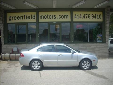 2008 Kia Optima for sale at GREENFIELD MOTORS in Milwaukee WI