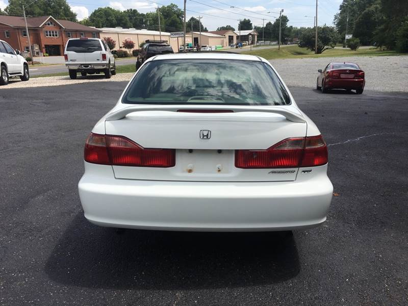 1998 Honda Accord Ex V6 4dr Sedan In Newton Nc Mike S Wholesale Cars