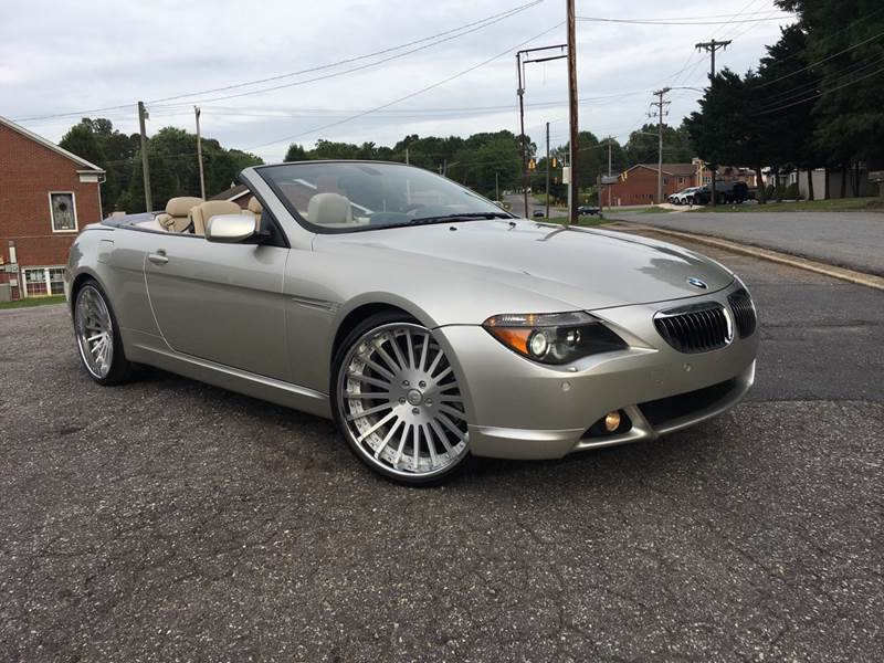 2005 bmw 6 series 645ci 2dr convertible in newton nc. Black Bedroom Furniture Sets. Home Design Ideas