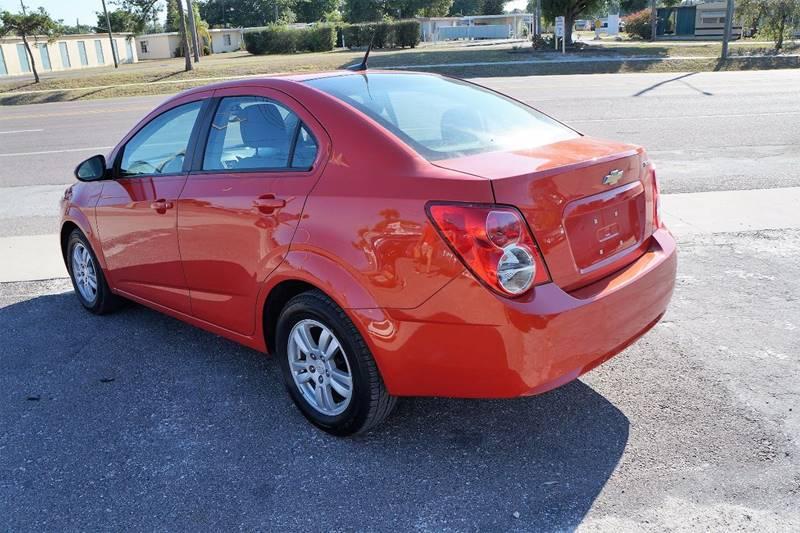 2012 Chevrolet Sonic LS 4dr Sedan w/2LS - Clearwater FL