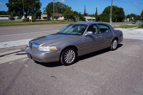 2003 Lincoln Town Car for sale in Clearwater, FL