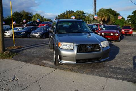 2007 Subaru Forester for sale in Clearwater, FL