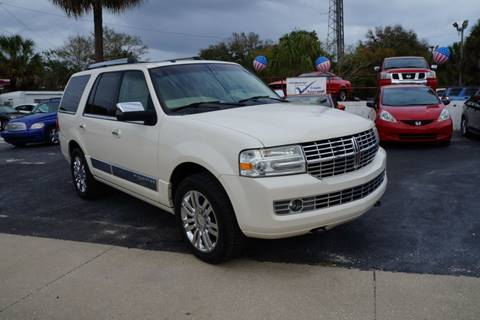 2008 Lincoln Navigator for sale at J Linn Motors in Clearwater FL