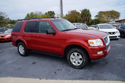 2010 Ford Explorer XLT for sale at J Linn Motors in Clearwater FL