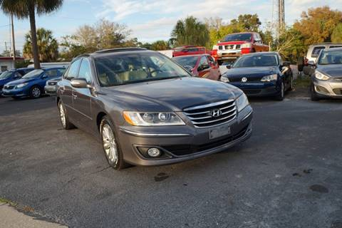 2011 Hyundai Azera Limited for sale at J Linn Motors in Clearwater FL