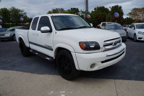 2004 Toyota Tundra for sale at J Linn Motors in Clearwater FL
