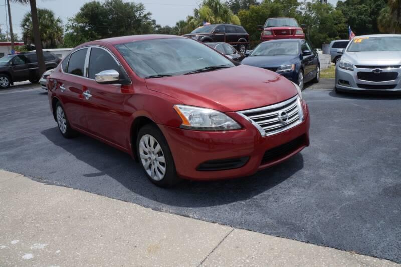 2013 Nissan Sentra for sale at J Linn Motors in Clearwater FL