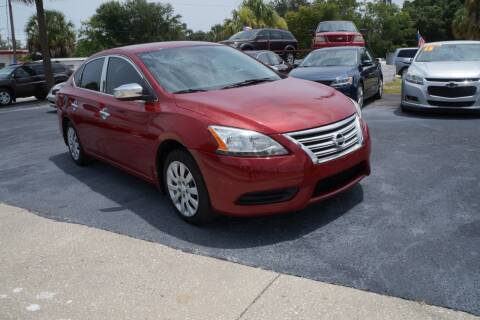 2013 Nissan Sentra for sale at J Linn Motors in Clearwater FL