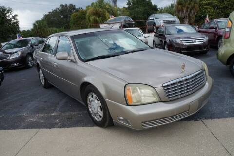 2004 Cadillac DeVille for sale at J Linn Motors in Clearwater FL