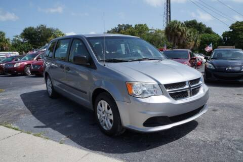 2014 Dodge Grand Caravan for sale at J Linn Motors in Clearwater FL