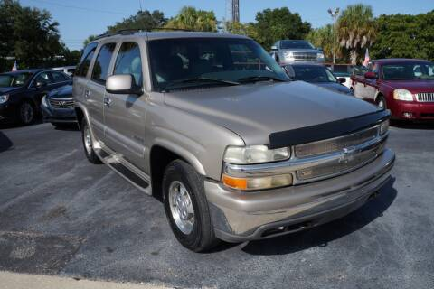 2001 Chevrolet Tahoe for sale at J Linn Motors in Clearwater FL
