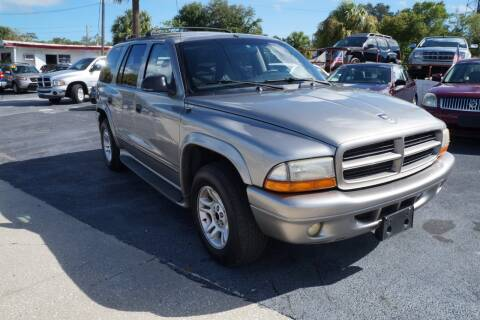 2001 Dodge Durango for sale at J Linn Motors in Clearwater FL