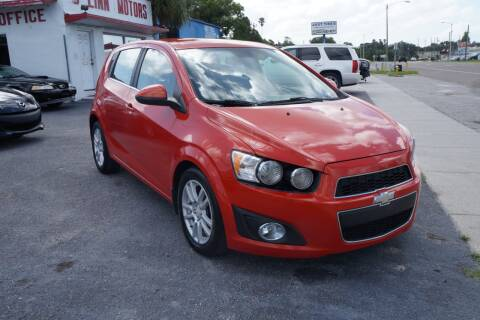2012 Chevrolet Sonic for sale at J Linn Motors in Clearwater FL
