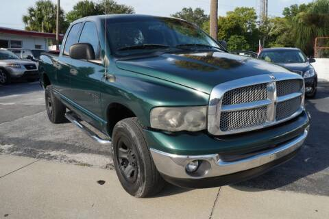 2002 Dodge Ram Pickup 1500 for sale at J Linn Motors in Clearwater FL