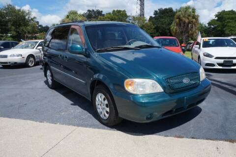 2005 Kia Sedona for sale at J Linn Motors in Clearwater FL